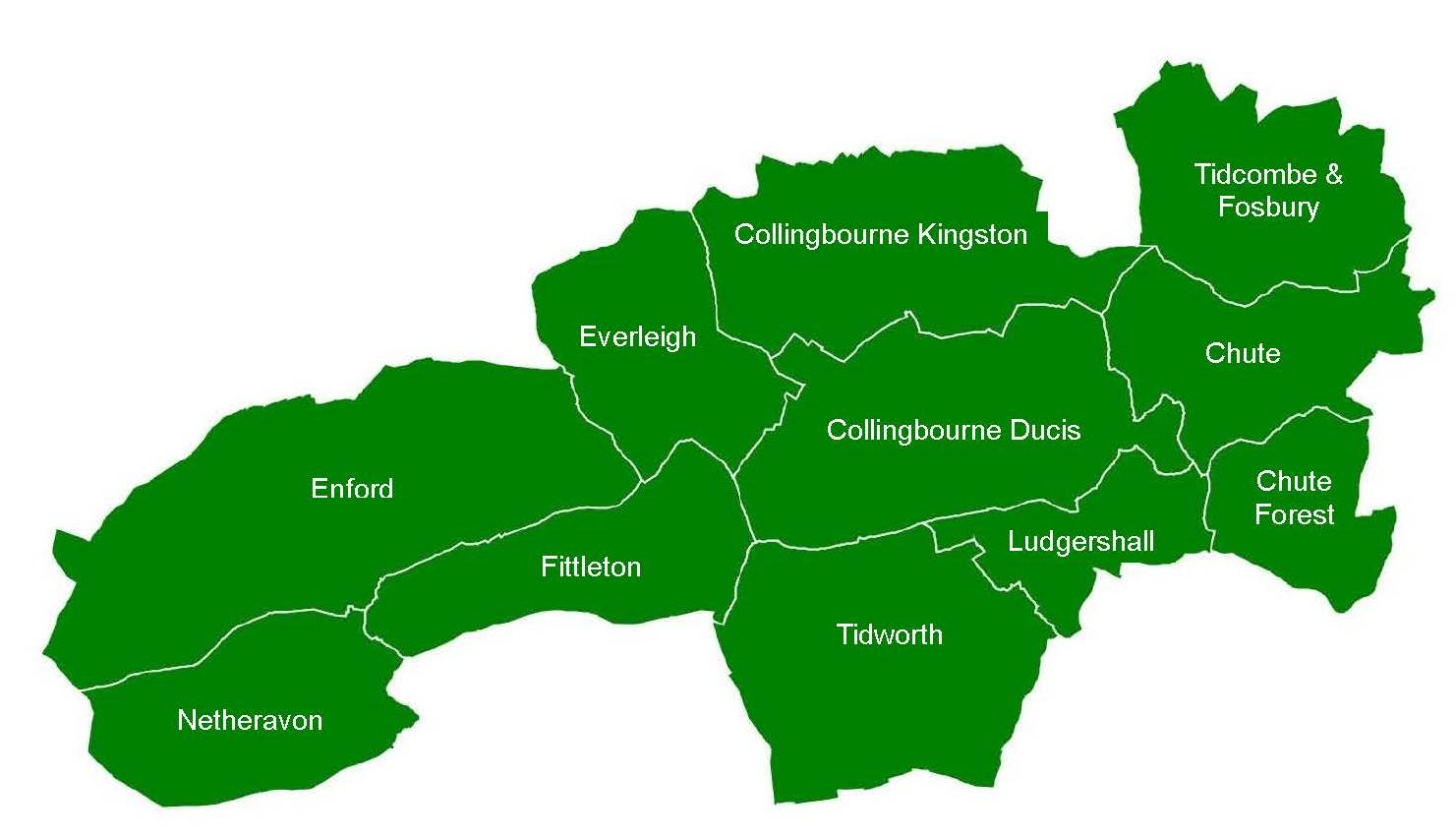 Tidworth Community Area Map - revised 2011